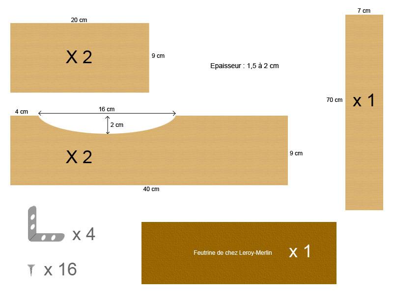 fabriquer son pied de guitare pour pas ch r accessoires et lutherie. Black Bedroom Furniture Sets. Home Design Ideas